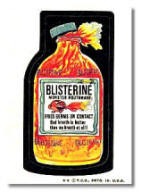 Wacky Packages Blisterine