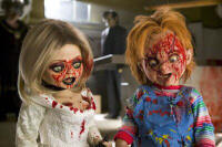 Chucky and Tiffany wreaking havoc