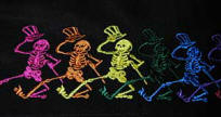 The Grateful Dead's dancing skeletons
