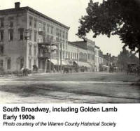 The Golden Lamb Inn circa early 1900s