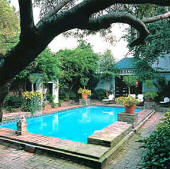 The Audubon Cottage's pool