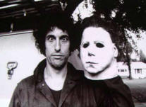 Nick Castle and his mask