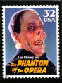 The Phantom of the Opera Stamp