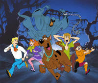 Scooby Doo and the rest of the gang
