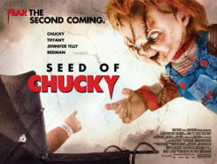 Seed of Chucky's clever poster and tagline