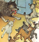 The Wolf and the Seven Little Kids by The Brothers Grimm